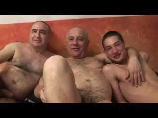 Double Whammy - Steamy Threeway Enjoyment from With Mature Gays