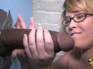 Sasha Knox wank the cock from...