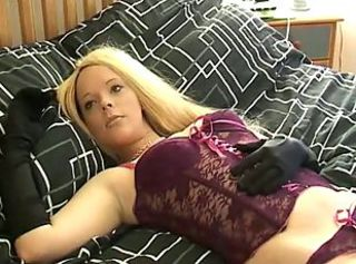 Sexily Clad Cute Blonde Brit Teen Fucked Together with Facialed