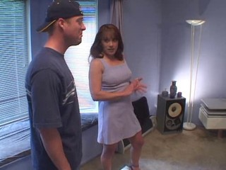 MILF Rents Room To College Boy,...