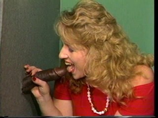 Blondy bbw and bbc gloryhole