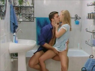Pretty blonde is open to anal