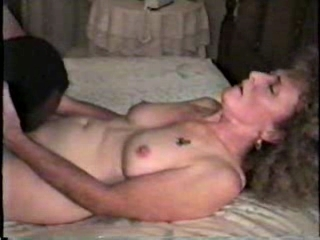 Nympho mature white wife with...