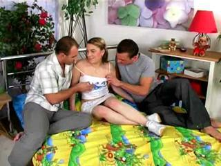 Teen Sandwich With Jizz