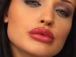 Old eyed hottie Aletta Ocean takes Three!
