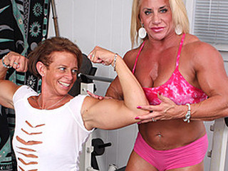 Pumped concerning lesbians tickle each...