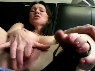 Mature  orgasm -- great vocation