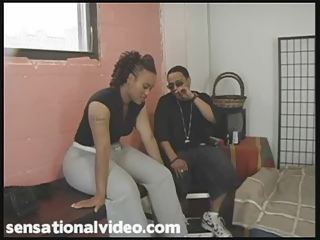 Big Booty Ghetto Babe Gets Fucked