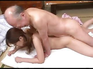 Japanese Father In Law Fucks Babe