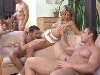 Bisexual Bachelor Party Pt 2 _: bisexuals group sex hardcore