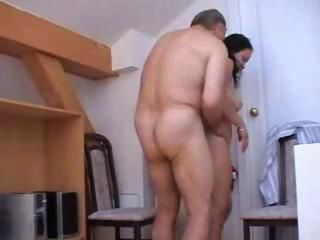 cute French Teen Daughter Amateur Prohibit homemade reality sex with oldman