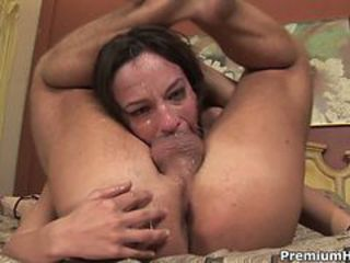 Sexy Amber Rayne gasps for breath greater than this prick