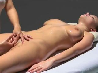 Massage Natural Oiled Orgasm