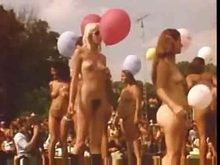 Fold up Nude Contest 1970