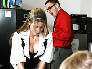 Milf fucked in office bathroo...