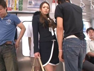 Gorgeous japanese babe have sex...