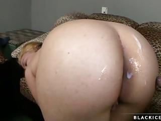 Horny Big Assed Babe Gets Sauced With Cum After One Nice Fuck On The C...