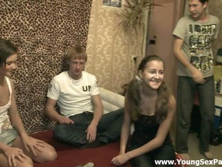 Dancing Homemade Jeans Legs Russian