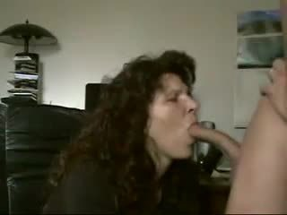 cum is dripping out of her mouth