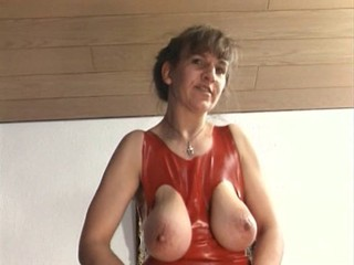 Fetish Latex Mature Nipples SaggyTits