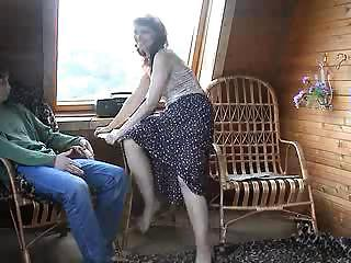 Countryside Couple - Guy And Mature Stepmom Penetration On Second Floor