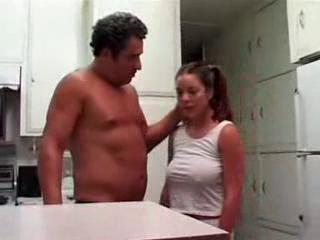 Busty Teen Fucked By A Much Older Man