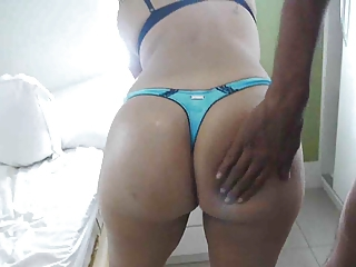 Big Thick Booty Brazilian Fucked By Homeless Drunk Man