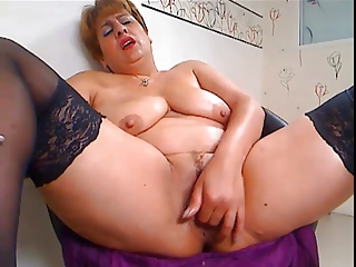 Fat Mature And Left side Anal