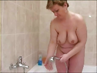 Mature In Shower