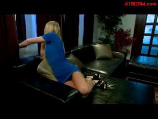 Blonde Girl Rapped By 2 Guys Getting Tie...
