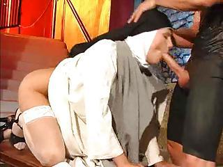 Nun Fisted And Fucked Down Basement
