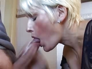 A Mature Spit The Sperm Out Of Her Mouth...