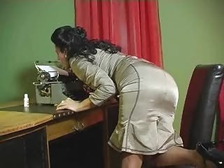 Eve horny secretary