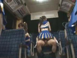 Cheerleader Groupsex Japanese Uniform