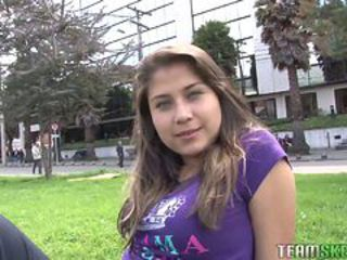 Oyeloca Busty hot latina Yulissa Camacho first time h...