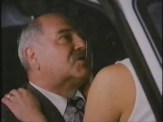 Old Man With Hooker In Car