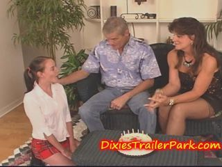 "Mom and Daddy give teen a CUM FILLED BIRTHDAY"" target=""_blank"