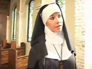 Nun fucked in church