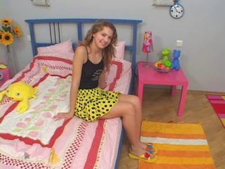 Brunette Russian Skirt Teen