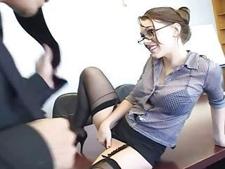 "Secretary Dped At The Office"" target=""_blank"