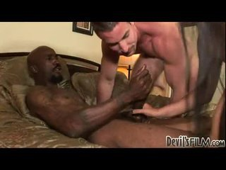 Interracial bisexual fun with voiced