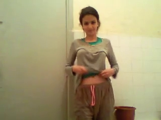 Arab Bathroom Brunette Clothed Homemade Solo Voyeur