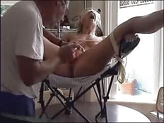 Tied Up Bitch In The Chair
