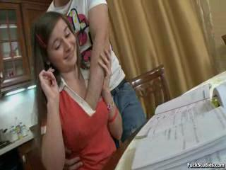 Hot girl gets analized deep