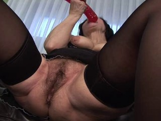 Granny regarding Stockings Toys and Fucks