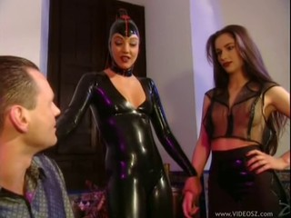Sexy Latex Threesome