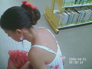Voyeur upskirt candy cute teen...