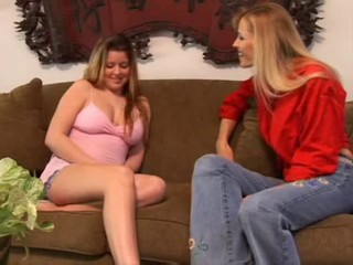 Milf strap on teen