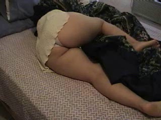 Ass Babysitter Skirt Sleeping Upskirt