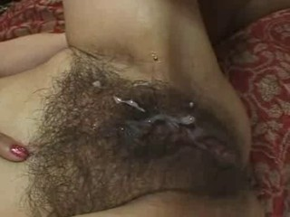 Close up Creampie Hairy Mature